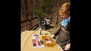 Framing Watercolors Without Glass:  Varnishing and Framing