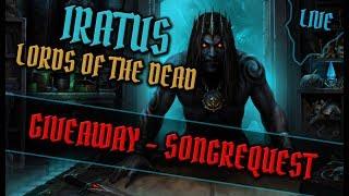 Iratus: Lord of the Dead - #03 Widzowie w drużynie! Na luzaczku z muzyczką! #live - Na żywo