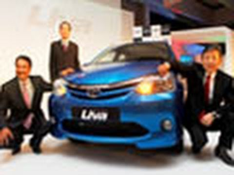 Toyota launches Etios Liva at Rs 3.99 lakh