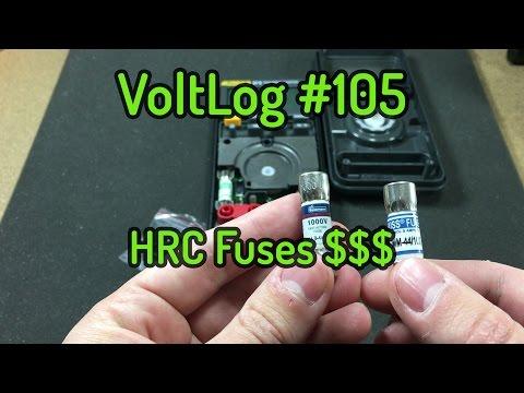 Voltlog #105 - Multimeter HRC Fuses Price Rant