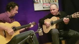 Flying Fingers - Bruce Mathiske plays his Dm Suite with Steve Cowley