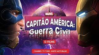 CAPITÃO AMÉRICA GUERRA CIVIL - O MELHOR FILME da MARVEL?