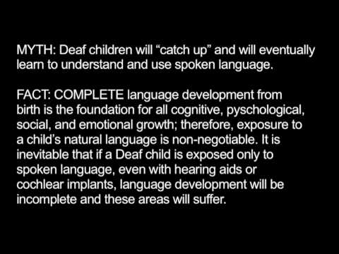 impact of a deaf child on Raising a deaf or hard of hearing child hands & voices rana it was great for her to be with other mothers who had deaf/hard of hearing children and i was only.