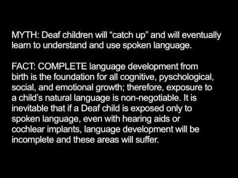 Image result for deaf facts