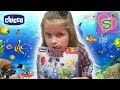 НАСТОЛЬНАЯ ИГРА UNDER THE SEA  chicco из Будинка Іграшок ИГРАЕМ с МАМОЙ KIDS BOARD GAME 2017