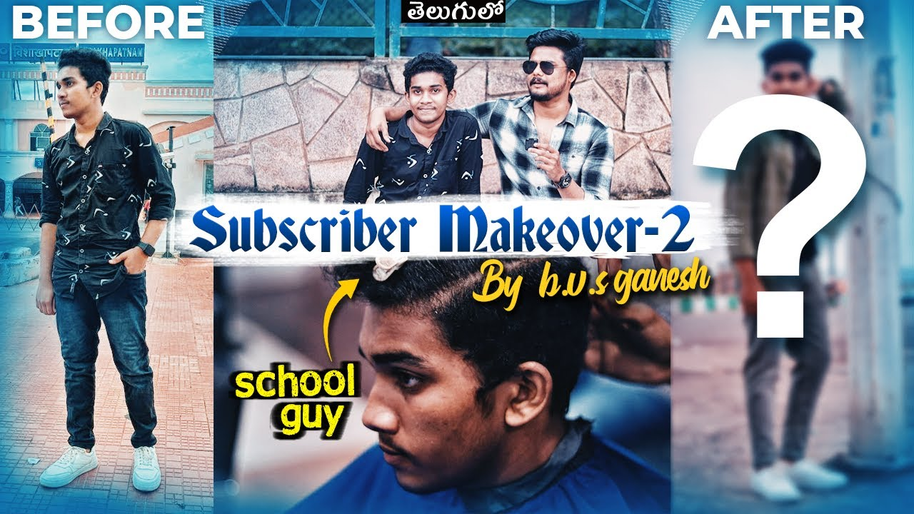 Subscriber Makeover-2 | My Makeover To a School Guy | Hairstyle And Complete Outfit Selection | TFV