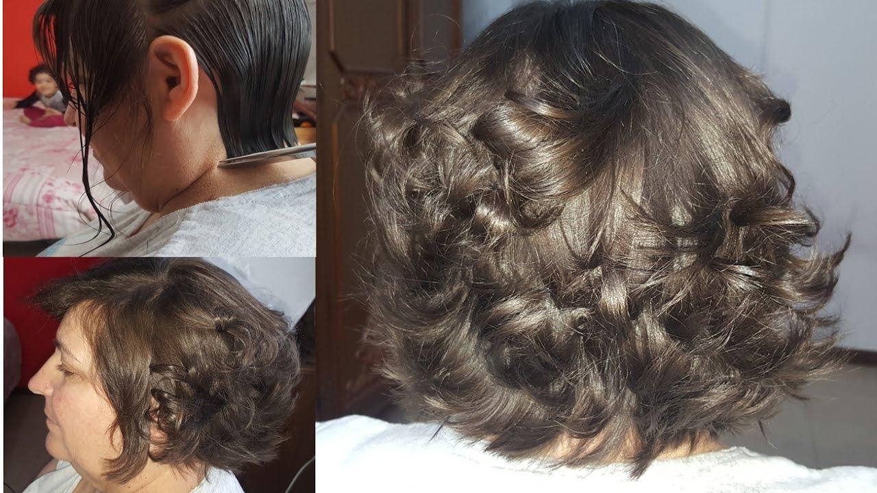 corte de cabelo em camadas medio
