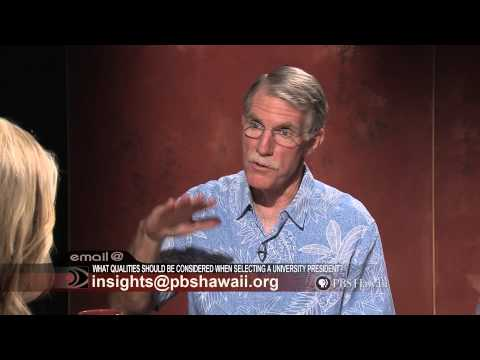 PBS Hawaii - Insights: Selecting a New University of Hawaii President