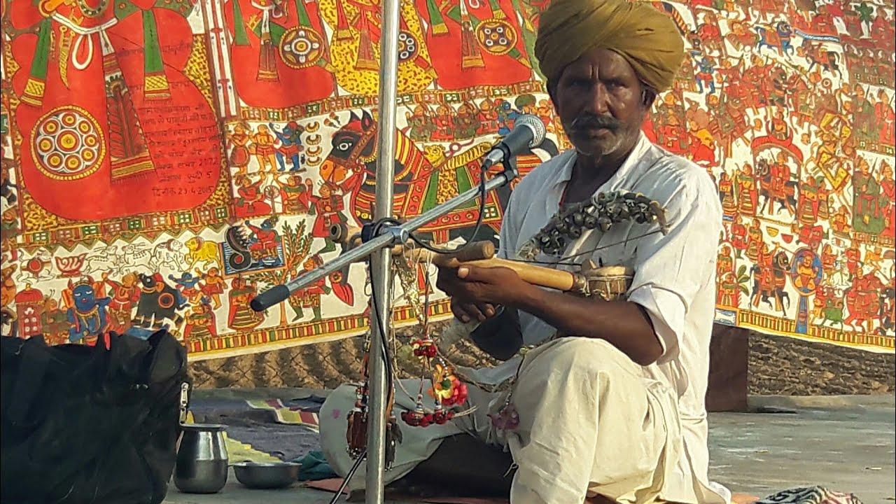 पाबुजी की पड़ पाबुजी भजन गायक वेहनाराम कोसलू से लाईव पड़ बास्ते देसी भजन - सांरगी पर पहली वार
