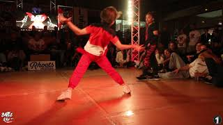BBOY LORENZO (Holland) vs BGIRL TERRA  (England) | 1on1 Final Kids | BATTLE RAW CONCEP #7