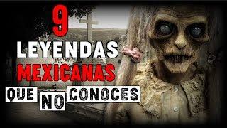 9 LEYENDAS MEXICANAS QUE QUIZÁ NO CONOCES | HISTORIAS DE TERROR | INFRAMUNDO RELATOS