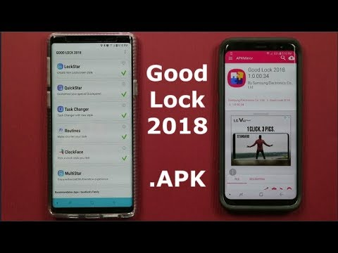 Here Is The Good Lock 2018  APK - Download & Overview