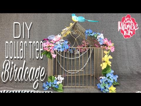 Dollar Tree DIY Decorative Birdcage