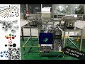 plastic spare parts packaging machine vertical hardwares nuts nails bolts vffs packing system