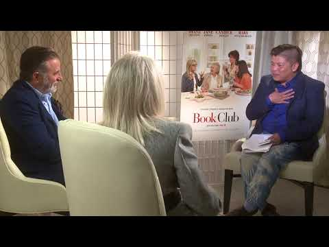 """Diane Keaton and Andy Garcia Rock!  I Love This """"Book Club"""" !"""