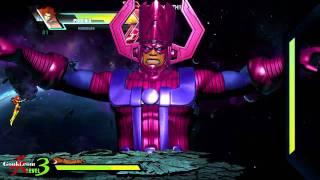 Galactus play through Ultimate Marvel VS Capcom 3 [Gouki.com Exclusive]