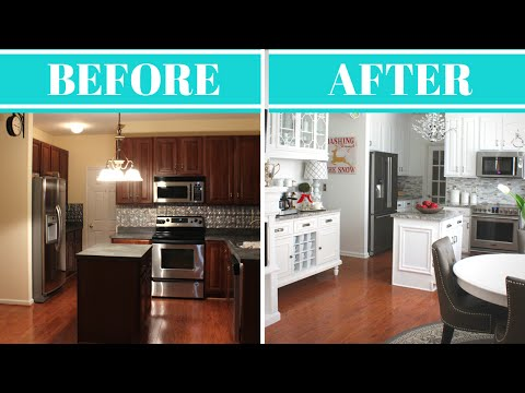 Kitchen Makeover Reveal & Tour |Before & After