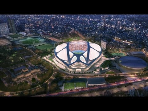 New National Stadium Video by Zaha Hadid Architects