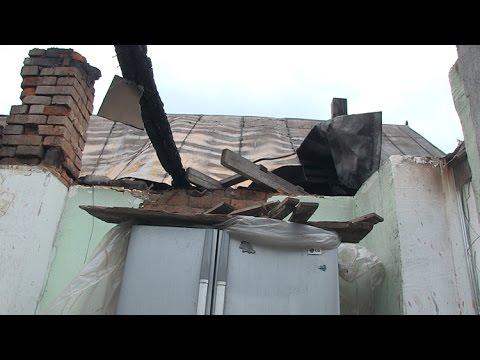 В селе Тетеревка под Житомиром сгорел дом, где проживал...