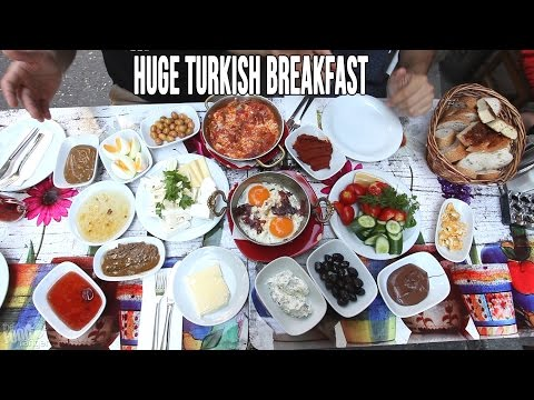 Eating A Huge Turkish Breakfast in Istanbul from YouTube · Duration:  4 minutes 37 seconds