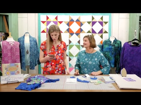 Missouri Star Quilt Company Live- Sewing with Rayon Batiks