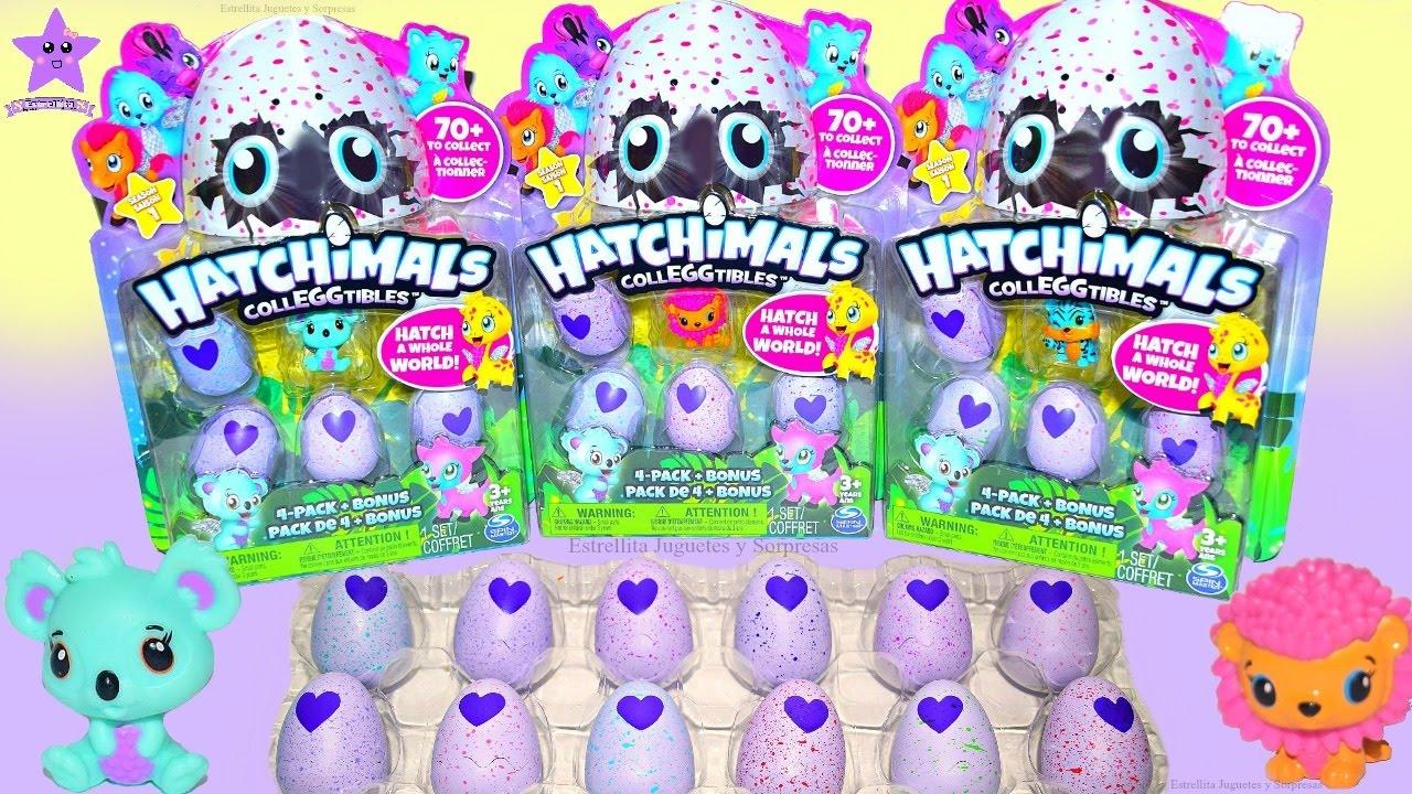Rompe Animalitos Cascaron Mini Hatchimals Colleggtibles El Juguetes Bebes Sorpresa Nuevos Huevos vIgmY7ybf6