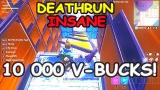 DEATHRUN INSANE | 10 000 V-BUCKS REWARD (Fortnite Royale)