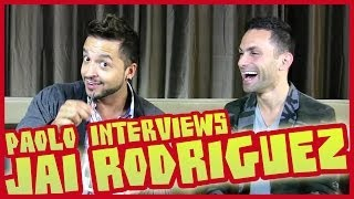 Up Close & Personal With Jai Rodriguez!