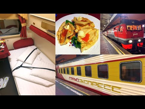 Trans-Siberian Railway Winter Journey - part 9: Moscow - St. Petersburg Grand Express Train № 054Ч