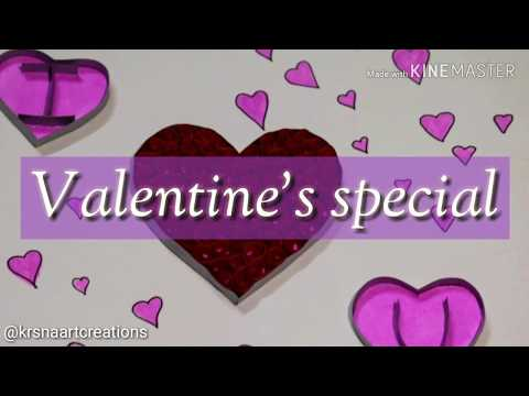 Quilling Heart for Valentine's Day| Paper Quilling Art | How to make Valentine Day Special
