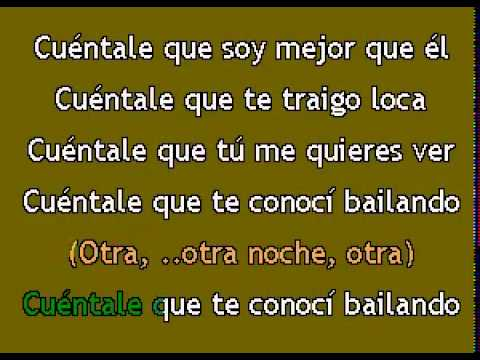 Karaokanta - Don Omar - Dile