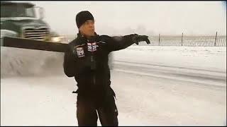 Steve Keeley vs. Snowplow Truck