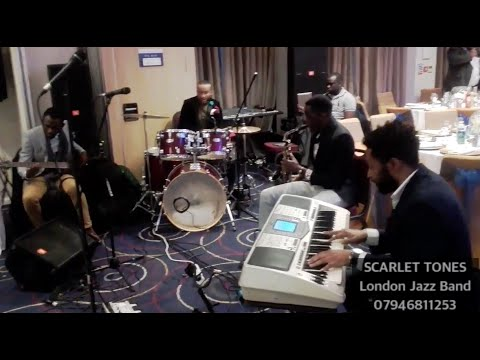 SCARLET TONES - London based African Jazz band (Enquiries +44(0)7946811253)