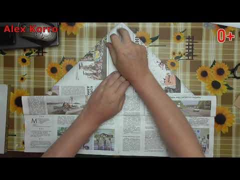 Как сделать кепку из газеты своими руками .Кепка Из Бумаги !Шапка из Газеты ! #AlexKorro#