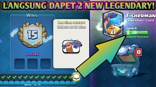 Cover images WOW LANGSUNG DAPET 2 FISHERMAN!! 15-0 NGEBUT TIPS NEW LEGENDARY CARD DRAFT CHALLENGE - Clash Royale