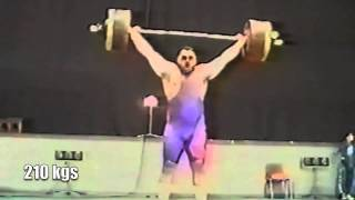 477.5 kgs - Danielyan - Highest Contest Weightlifting Total of All-Time