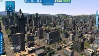 CITIES XL 2012 Gameplay 2.5Million population (No Mod,raw game)