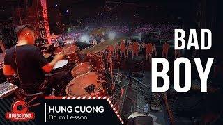 Bad boy - Đông Nhi (Drum cam Hùng Cường) Drummer in Vietnam