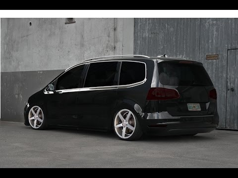 gimp tuning 3 vw sharan 2010 black djclight youtube. Black Bedroom Furniture Sets. Home Design Ideas