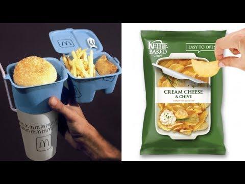 40 гениальных упаковок еды, которые делают жизнь проще