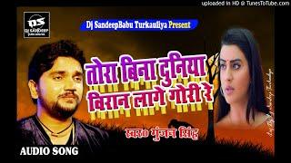 Tora Bina Duniya Biran Lage Gori Re(Gunjan Singh Sad Song)Dj SandeepBabu Turkauliya