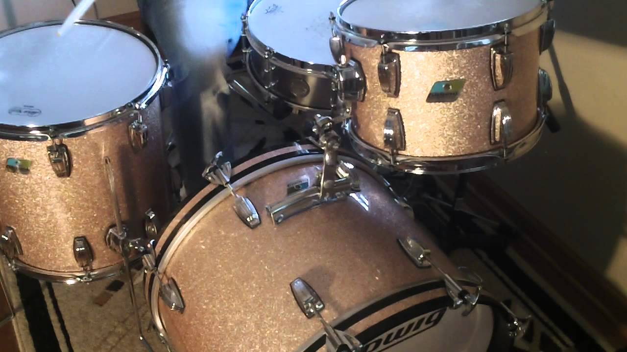 Ludwig Classic Maple 12x8 14x14 20x14 Champagne Sparkle
