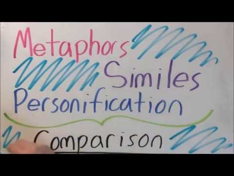Metaphors, Similes, and Personification
