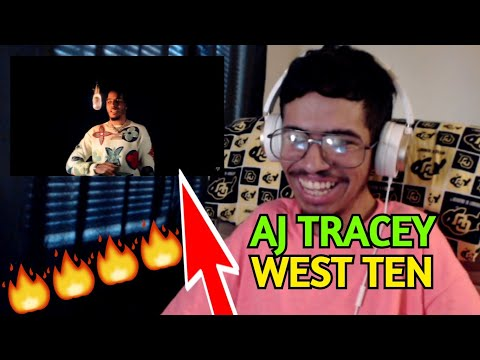 AJ TRACEY - WEST TEN FT. MABEL (OFFICIAL MUSIC VIDEO) (Reaction)