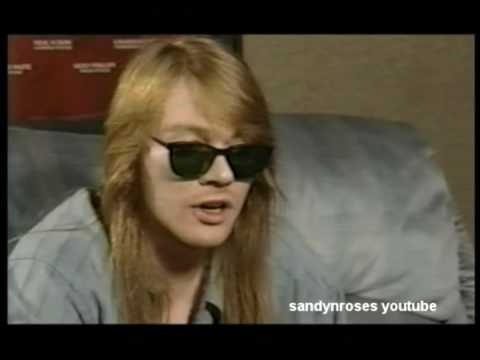 Interview With Axl Rose PART 1