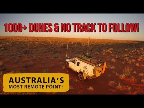 OVER 1,000 SAND DUNES & no track to follow! Australia's most remote spot! Graham's 2015 Adventure