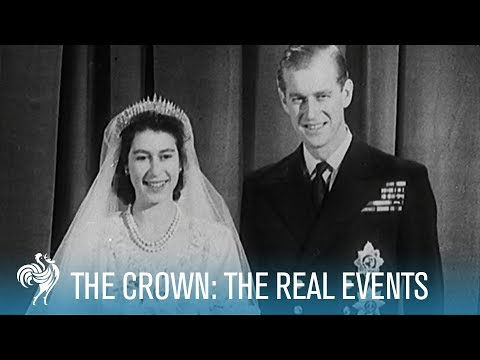 The Crown Season 1: Rise of the Queen to Churchill's Resignation  British Pathé