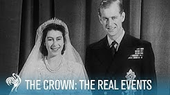 The Crown Season 1: The Real Events | British Pathé