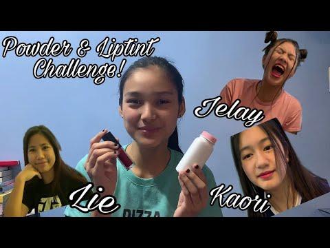 Powder & Liptint Challenge ft. Big 4 || Karina Bautista