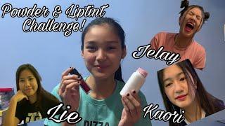 Powder & Liptint Challenge ft. Big 4    Karina Bautista